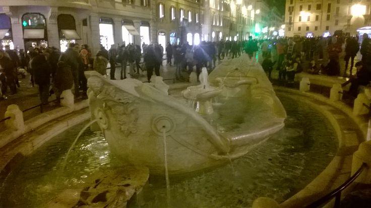 Piazza di Spagna nel Roma, Lazio