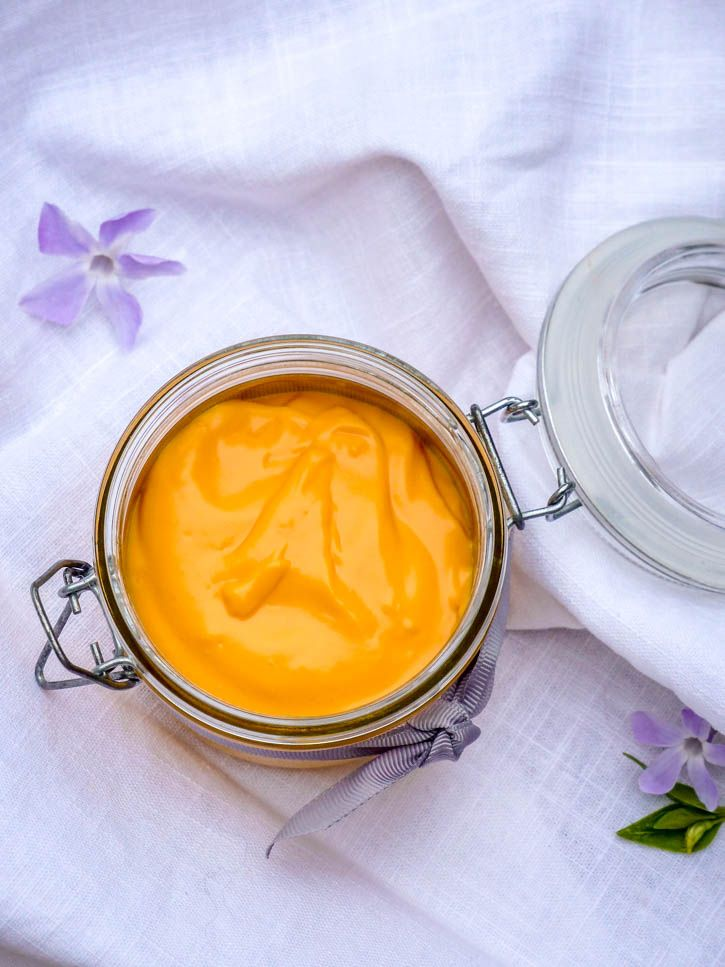 Crème bonne mine à la carotte