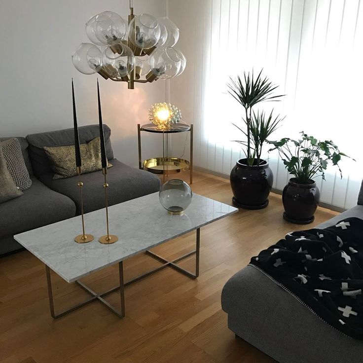 Large Ninety coffee table with white top together with Deck table in the corner  #Danishdesign #Ninety #Coffeetable #Deck #Table