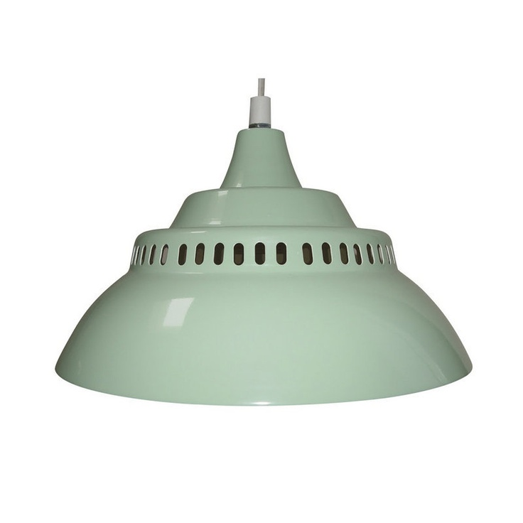 Metalen lamp mint @ babymolen.nl