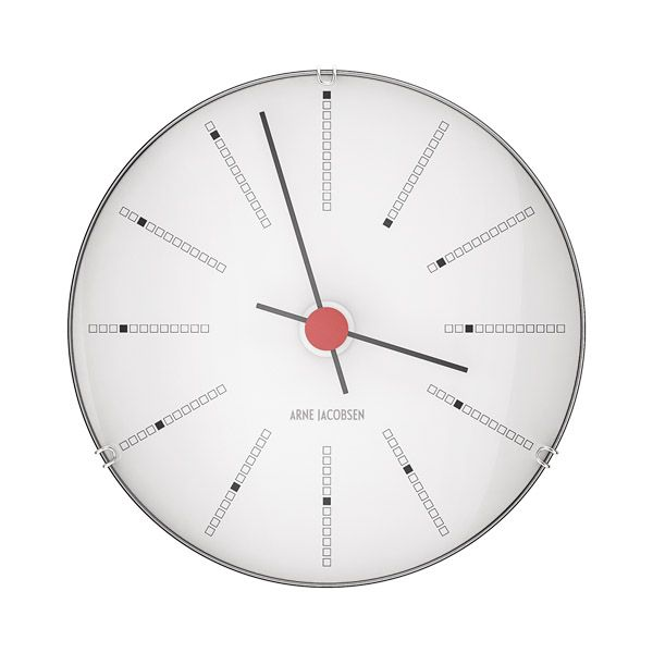 AJ Bankers wall clock 120mm by Arne Jacobsen