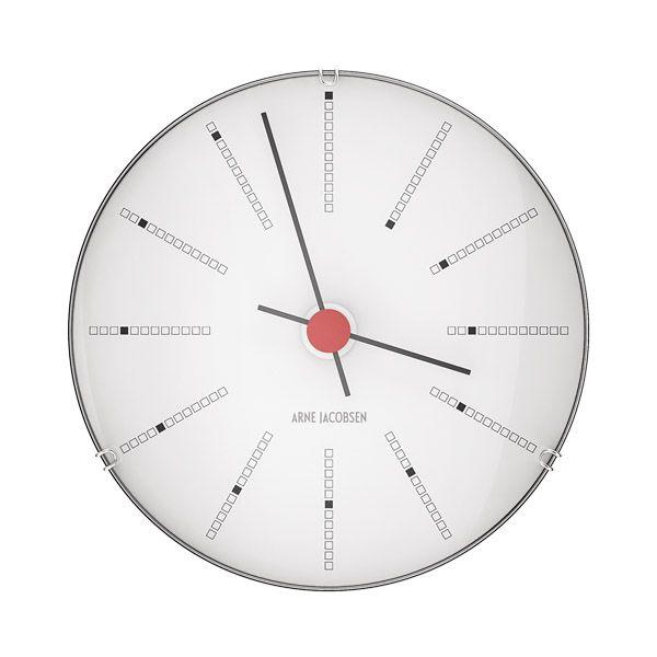 AJ Bankers wall clock 120mm by Arne Jacobsen