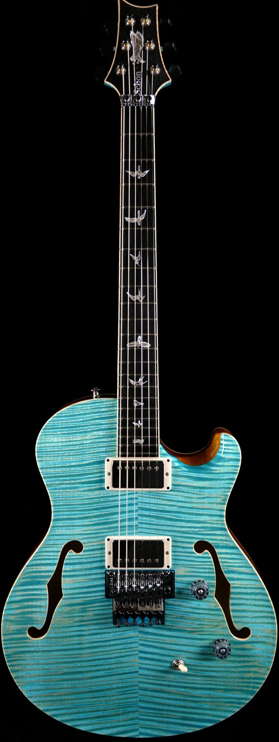 Wild West Guitars : PRS Neal Schon LTD Private Stock in Faded Makena Blue-SOLD