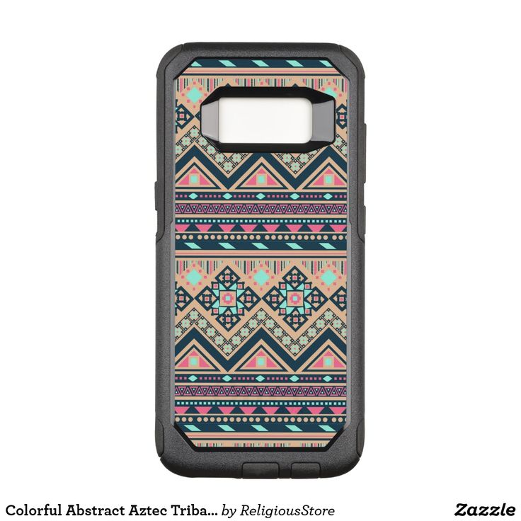 Colorful Abstract Aztec Tribal Pattern OtterBox Commuter Samsung Galaxy S8 Case