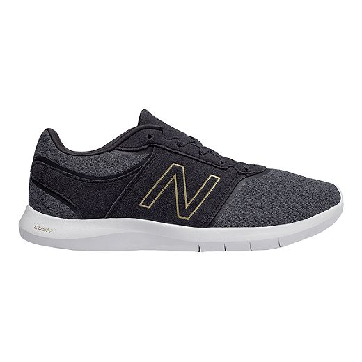 New Balance Women's 415 Training Shoes - Black/Gold - BLACK