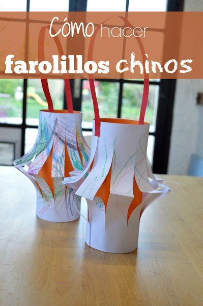 Farolillos chinos de papel