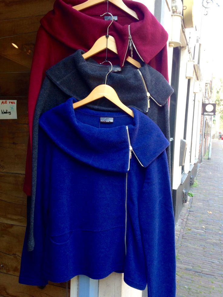Vest wol katoen winter
