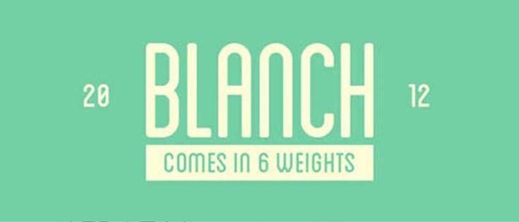 Blanch Font Cantik Free Download Gratis