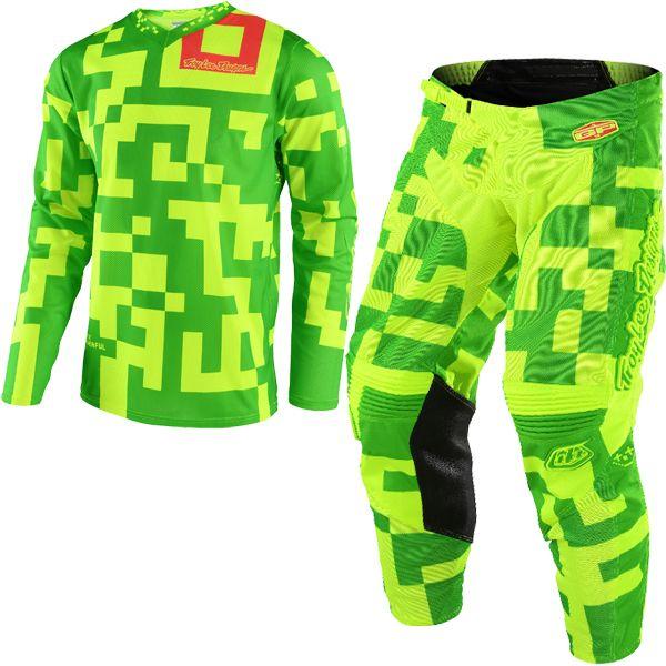 Troy Lee Design Streamline SE Blue Orange TLD Motocross Race Jersey Adult Medium