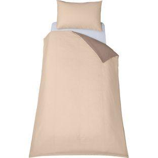 Buy ColourMatch Cafe Mocha/Cotton Cream Bedding Set - Single at Argos.co.uk, visit Argos.co.uk to shop online for Duvet cover sets
