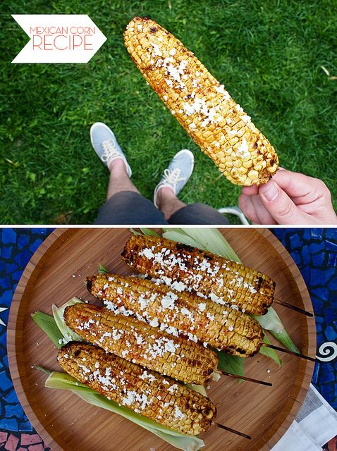 Grilled Mexican Corn Recipe -- The Cuisinerd for #HGTV
