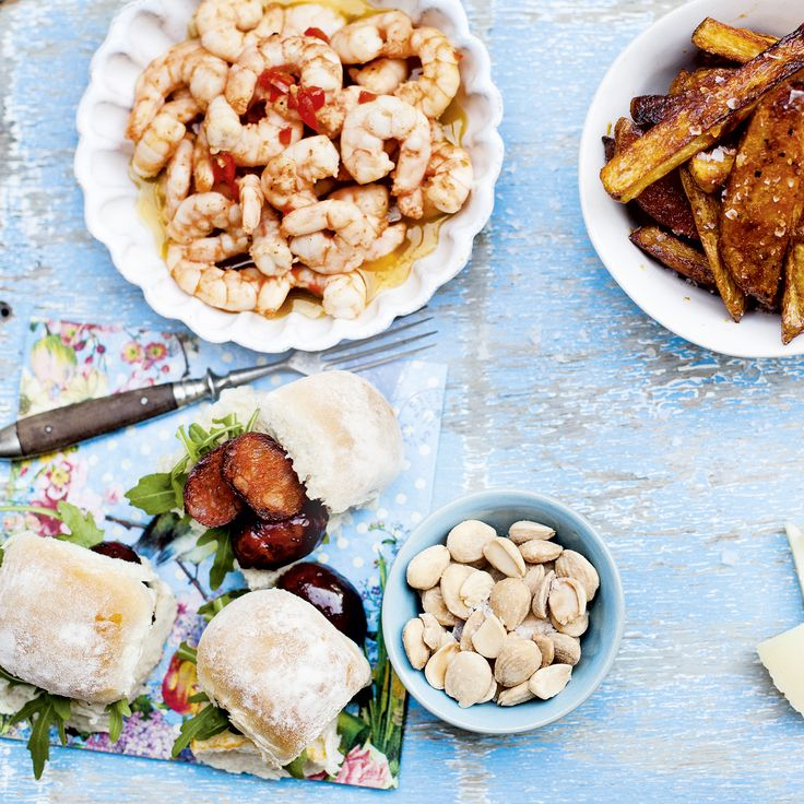 A great dish to include on a Spanish-style tapas board, or fab as a starter too