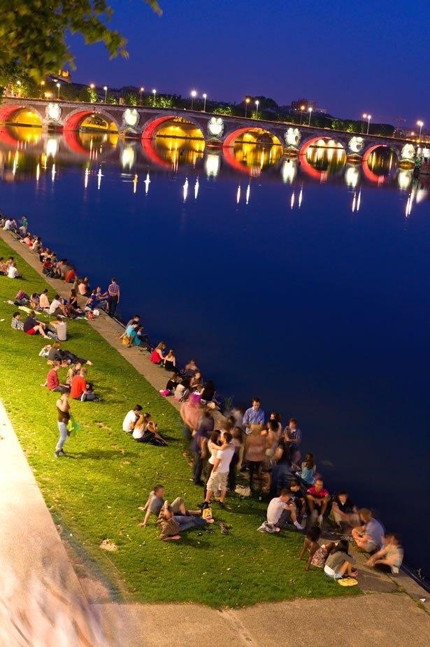 A best city for a romantic evening. #Toulouse City, #France