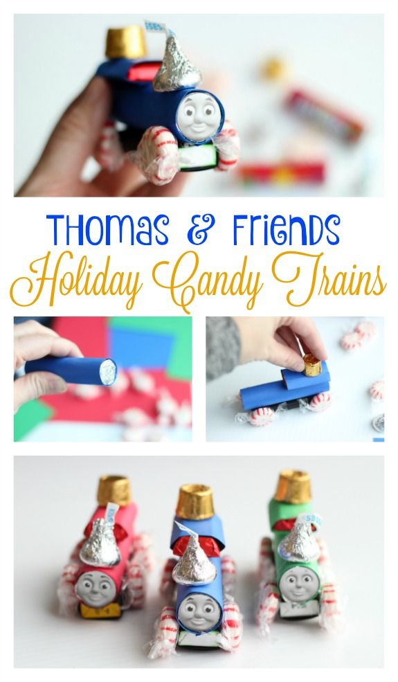 Thomas and Friends Holiday Candy Trains @ThomasandFriends #ad
