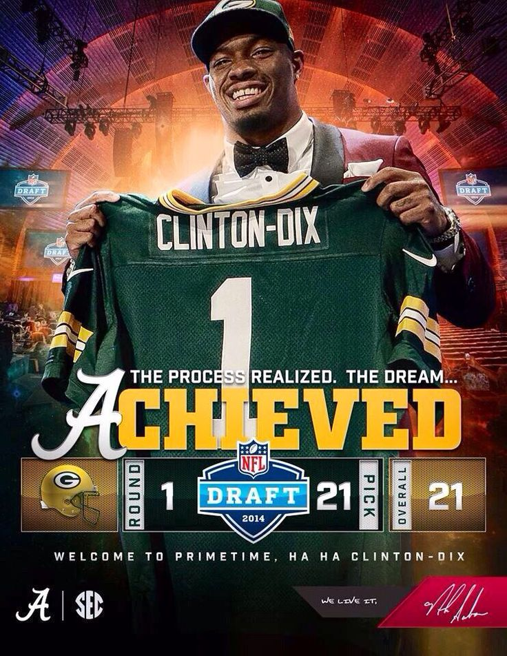 Haha Clinton-Dix- Green Bay Packers 1st pick in round one of the 2014 draft