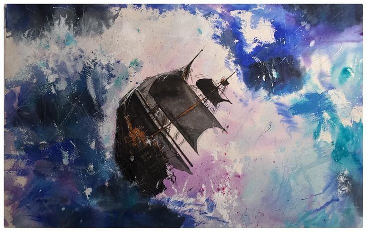 The heart of the sea #instagood #waterblog #aquarelle #watercolor #painting #art #artwork #instagood #artist #watercolorart #watercolourart #style #artoftheday #inspiring_watercolors #scene #watercolourpainting #watercolour #painting #artist_4_shoutout #artdesires #abstract #sky #storm #sketch #color #colour #purple #blue #sea