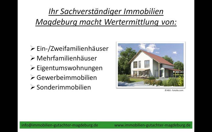 Sachverständiger Immobilien Magdeburg | TEL.039172713083 Verkehrswert Ha...