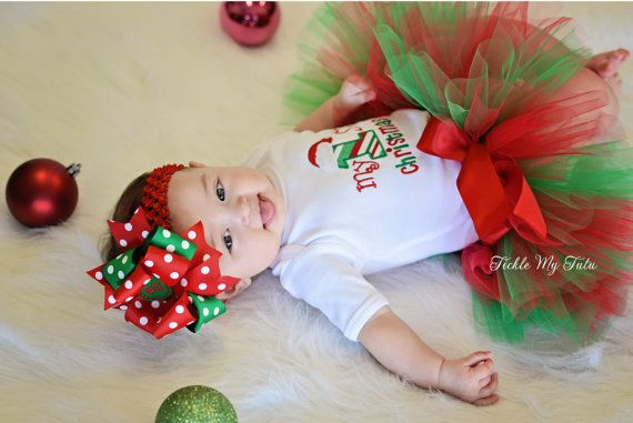 Hey, I found this really awesome Etsy listing at http://www.etsy.com/listing/163756805/my-first-christmas-tutu-outfit-my-first