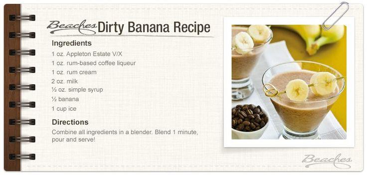 Dirty Banana Drink Recipe Baileys