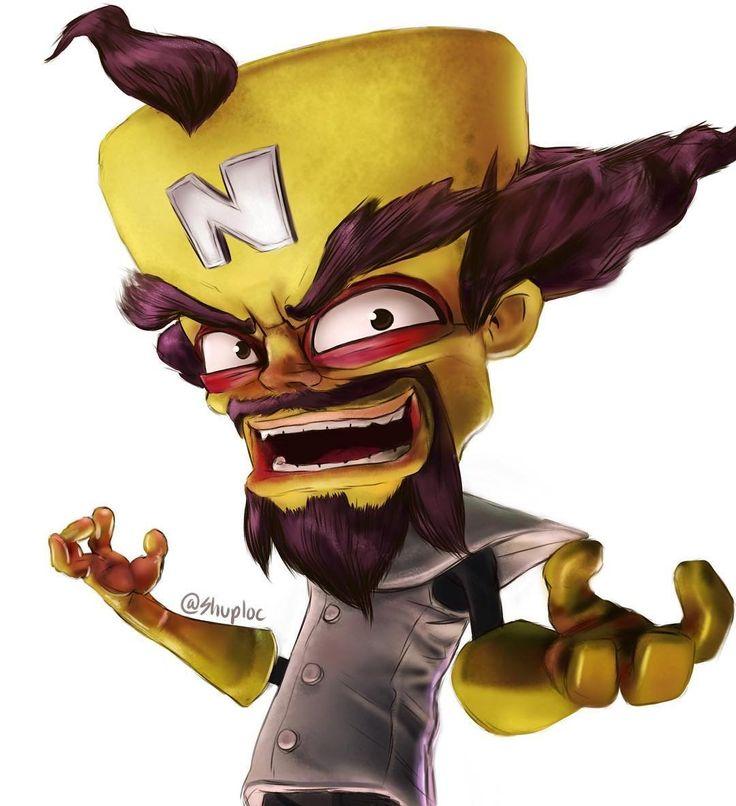 Neocortex: 17 Best Ideas About Crash Bandicoot On Pinterest