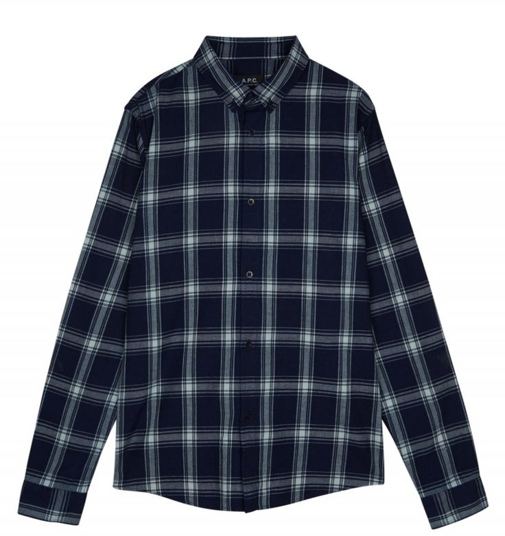 A.P.C. BUTTON-DOWN SHIRT #APC #SHIRT #sefton #seftonfashion #checkshirt #newarrivals #newin