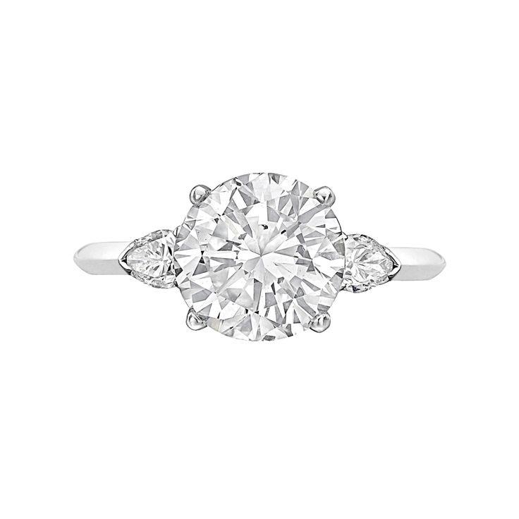 Cartier 3.05 Carat Round Brilliant Diamond Ring