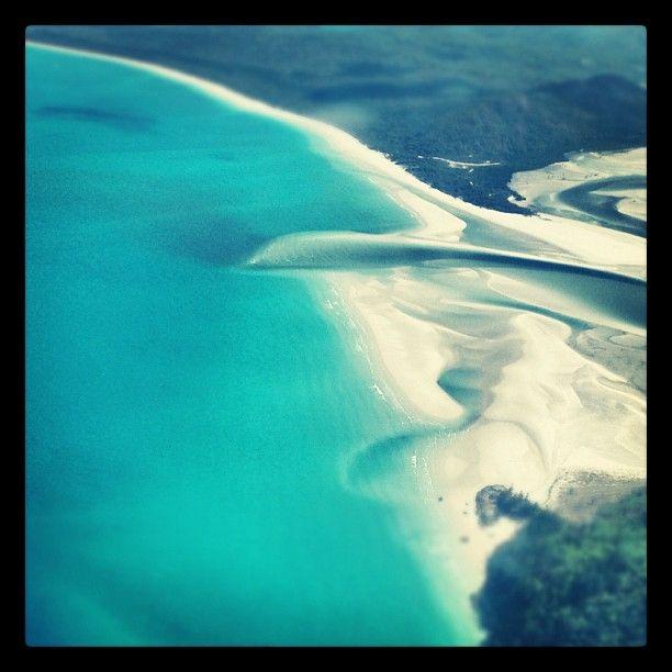 Whitehaven Beach in Whitsunday Island, QLD