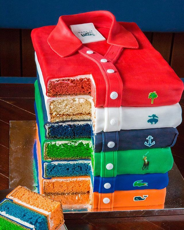 Yolo so might as well eat your favorite polo. Cake by @kelseapiquette