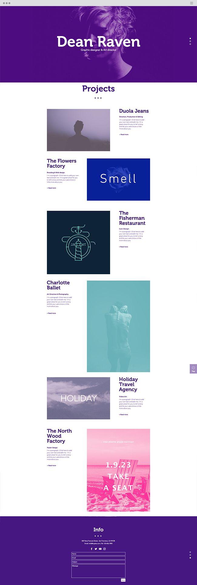 web template designs