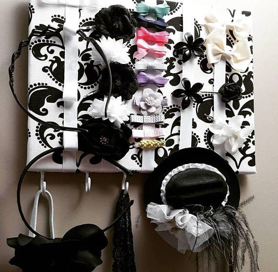 Hey, I found this really awesome Etsy listing at https://www.etsy.com/ca/listing/534607296/hair-bow-holder-bow-storage-accessory