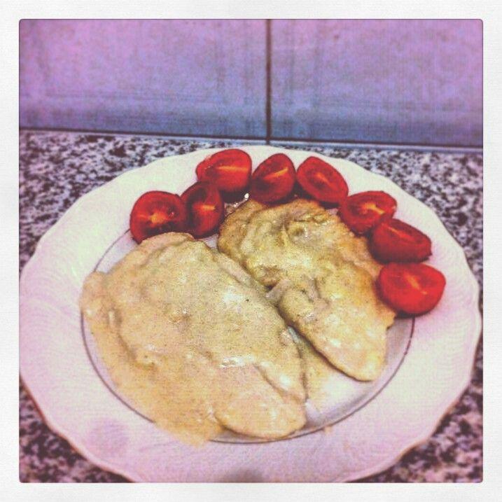 """""""Turkey with milik"""" .  For full recipe => www.cucinareconsapienza.altervista.org/secondi-con-sapienza/"""