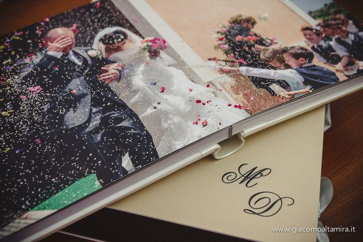 Album di matrimonio: esempio di fotolibro e album tradizionale | Giacomo Altamira fotografo