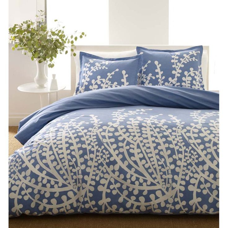 City Scene Branches French Blue Comforter Set French Blue - 166353