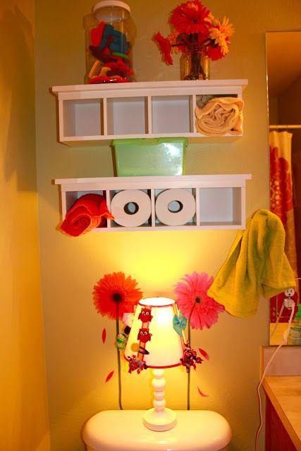 Achieving Creative Order: Little Girlsu0027 Bathroom Organization Part 78