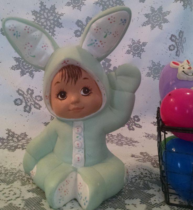 Easter Bunny Vintage Bunny Bunny Figurine Rabbit