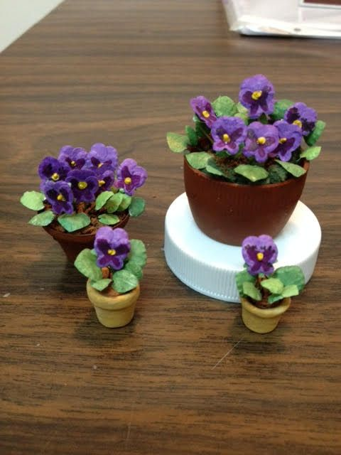 tutorial: miniature pansies