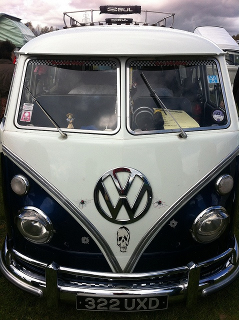 Slammed VW Camper Van by JacquiJSB, via Flickr