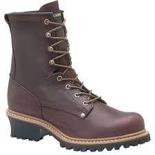 "Carolina - Men's 8"" Logger Work Boot - 821"