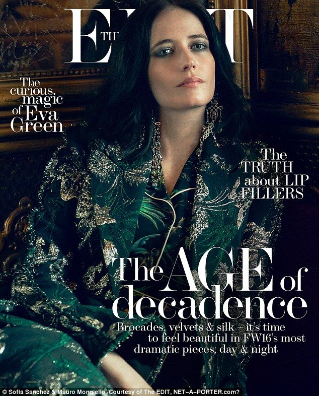 'There's just so much b*******, so many egos. If you haven't made it in a certain amount of years, it's very scary. I wouldn't say I'm comfortable with aging as an actor. There is pressure. It's tough,' she told The Edit
