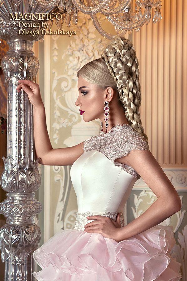 Пышное свадебное платье RANIA LUXE с корсетом и воланами. - Ярмарка Мастеров - ручная работа, handmade
