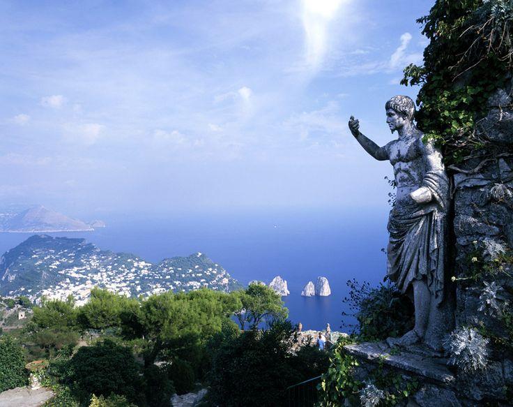 Isla de Capri, Campania (Italia). Verano 2010, Costiera Amalfitana