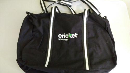 Cricket Logo Duffle Bag New