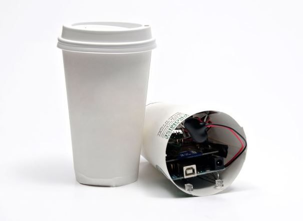 Build a classic spy cam using the Arduino Uno R3 http://makezine.com/projects/coffee-cup-spy-cam/
