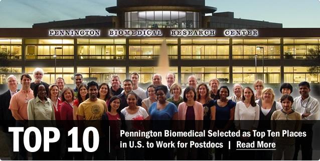 Pennington Biomedical Research Center: Pennington Biomes, Pennington Biomed