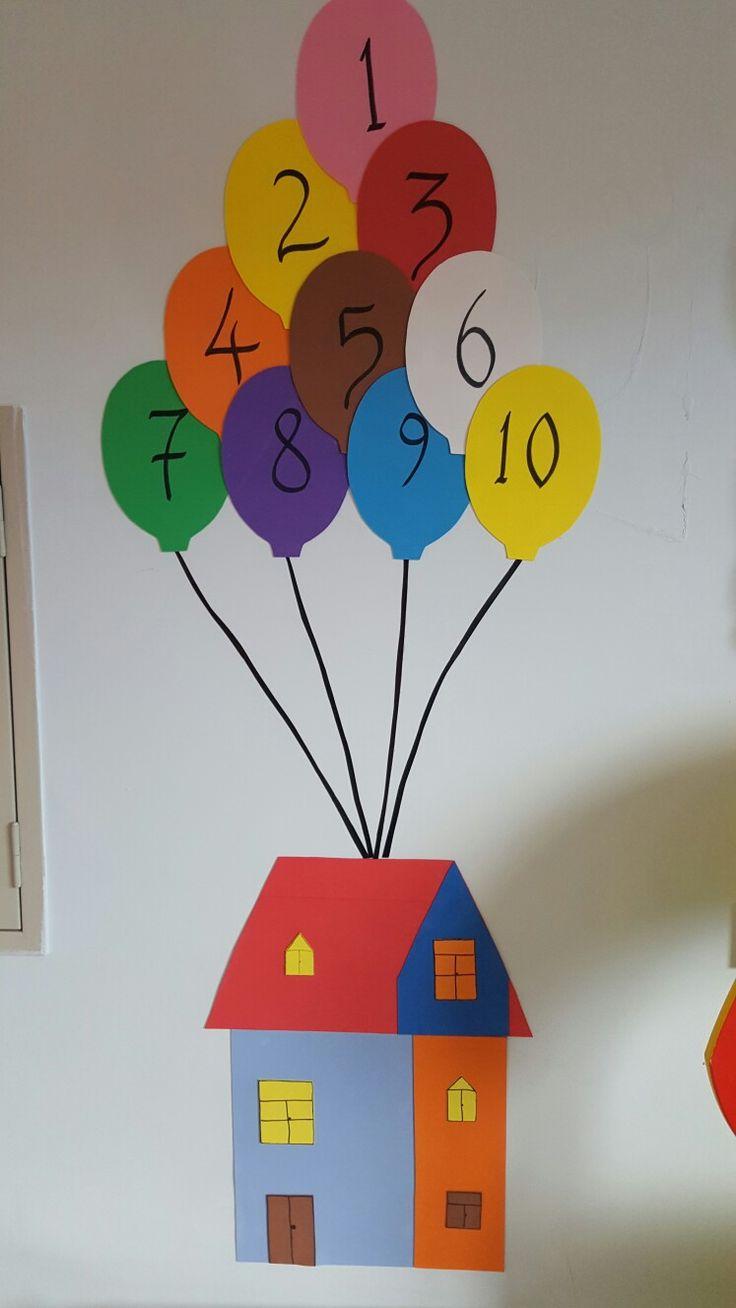 Okul öncesi sayı köşesi