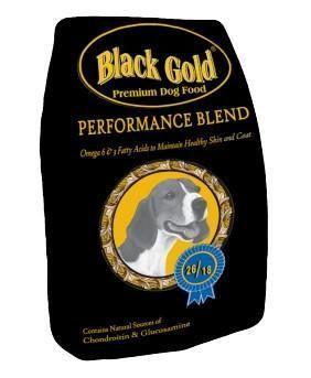 Black Gold Performance Blend Dog Food 26/18 50 Lb