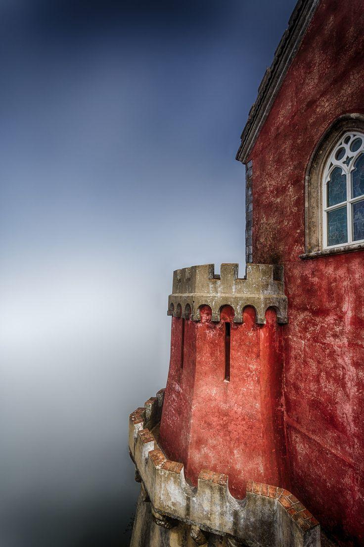 Misty Pena Palace, Sintra, Portugal