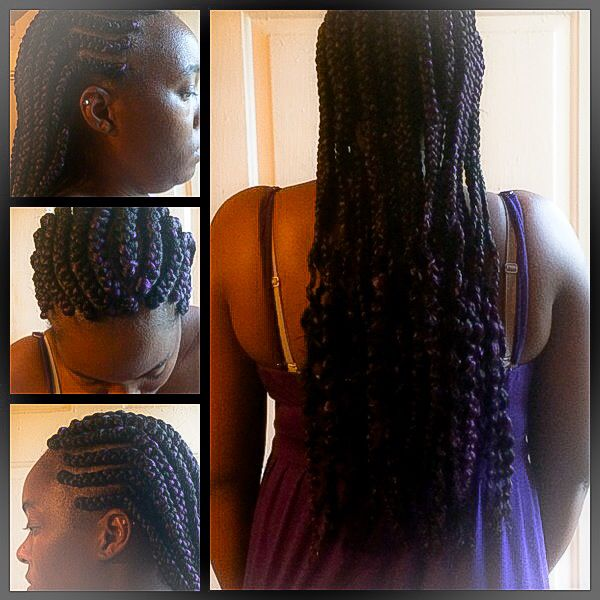 ... about Cornrows Hairstyles on Pinterest To the, Purple and Cornrows