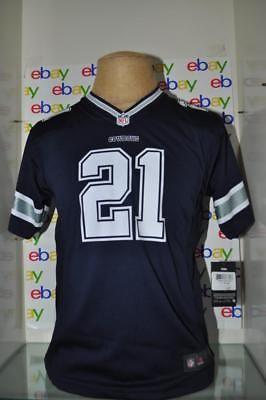 8b40dc3169fa Nike Ezekiel Elliott Dallas Cowboys Youth Navy Game Jersey NWT (eBay Link)