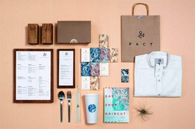 Pact - Contoh Corporate Identity untuk Branding Bisnis